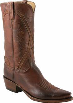 becc516e104 Mens Lucchese Classics Whiskey Burnished Baby Buffalo Custom Hand-Made  Cowboy Boots L1661 Custom Cowboy