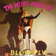 Blowfly : Weird World Of Blowfly (LP, Vinyl record album) Greatest Album Covers, Cool Album Covers, Music Covers, Lp Cover, Vinyl Cover, Cover Art, Lps, Kitsch, Mundo Musical