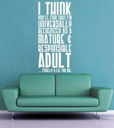 Finally a Lie Too Big - Doctor Who Wall Decal - Medium & dr who wall decals | Dr Suess - Weird Love Wall Decal by GeekeryMade ...