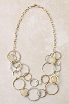 Anthro Shepherd Moon Necklace