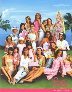 Lilly Pulitzer Spring 2004 Catalog cover
