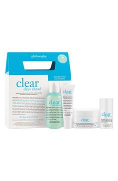 philosophy 'clear days ahead' acne treatment trial kit ($67 value) available at #Nordstrom