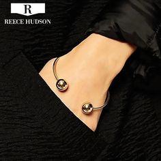 Nieuwe Mode Unieke Ontwerp Ronde Kralen Armbanden Voor Vrouwen Rock Stijl Party Meisje Armband Gratis Verzending