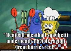 Funny SpongeBob SquarePants & Patrick Star – Fit for Fun % Funny Quotes, Funny Memes, Hilarious, Jokes, True Memes, Spongebob Memes, Spongebob Squarepants, Great Barrier Reef, Ravioli