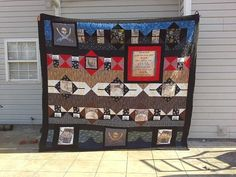 Custom hand made quilt by Lily Pad Crafts / Crafts by Ribbit