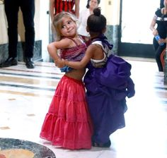 North West and Penelope Disick went salsa dancing in Cuba with their famous parents — see the cute photos here