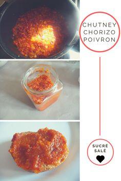 recette chutney chorizo poivron pomme tartinade dip recette facile sucrée salée