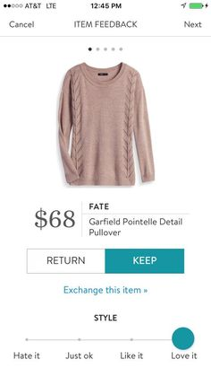 this sweater got great reviews! :)