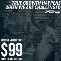 We are challenged when we take action and exert effort not when we sit on the couch and wait for something to happen. Secret Academy memberships are just $99 to join now at the link in our bio - don't click it unless you're ready for a challenge. #motivation #entrepreneur #smallbusiness #secretentourage #teamentourage #success #motivation #success #quotes #inspiration