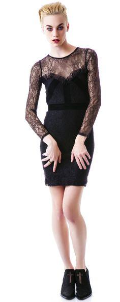 For Love & Lemons Vanity Mini #Dress #lace