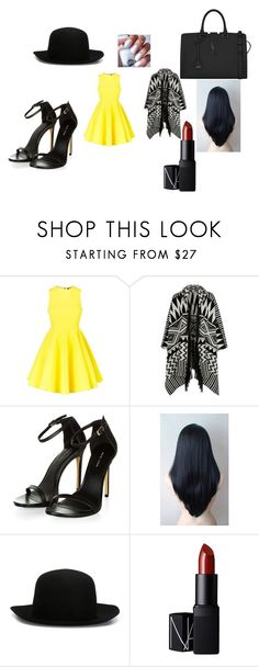 """""""hey guys i kinda ran outta titles so um ya know can ya help me out plz???"""" by maryjsullivan on Polyvore featuring AQ/AQ, Accessorize, ISABEL BENENATO, NARS Cosmetics, Yves Saint Laurent, help and PLEESE"""
