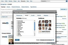 1ST 4/11/12 Linkedin rolls out tools for businesses to target followers, competing more directly with FB brand pages.