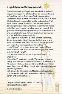 Engelchen im Schweinestall Source by maerchenfrau German Language Learning, Storytelling, Kindergarten, Sayings, Elke Bräunling, Christmas, Xmas, Blog, Fairy Tail