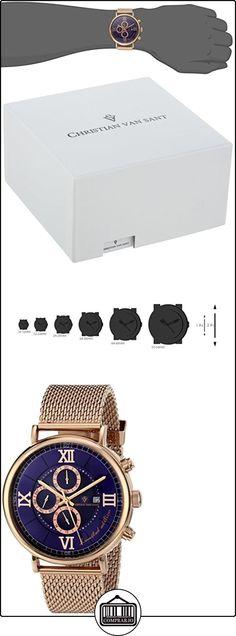 Christian Van Sant Reloj Cv1128 Somptuese Limited Edition Oro Rosa 45  mm  ✿ Relojes para hombre - (Lujo) ✿