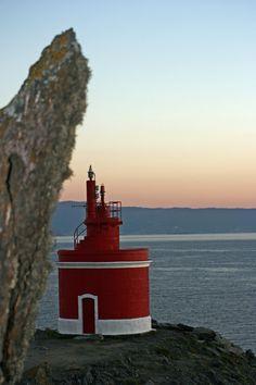 #Lighthouse - #Faro de Punta Robaleira, Cabo Home, #Spain