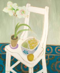 ❀ Blooming Brushwork ❀ - garden and still life flower paintings - Mary Fedden
