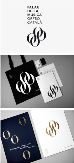 Palau de la Música identity on Behance