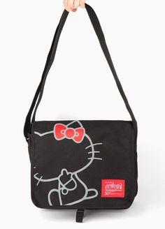 05f74e3d0b Manhattan Portage x Hello Kitty Messenger Bag