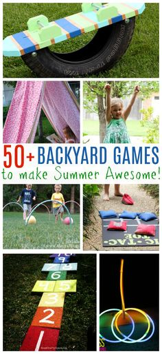 If you're looking for some fun family games that you can play in your own backyard, then this kid-friendly list of summer boredom buster activities that you can really do all year long has it all. These are the perfect party games for BBQs, fourth of July, family reunions, or any family gathering.