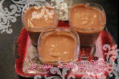 Blog de gigi :La cuisine familiale de Gigi, Crème danette carambars chocolat lait à la multidélices.