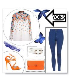 """""""Yoins"""" by slatka-lamija ❤ liked on Polyvore featuring Topshop and yoins"""