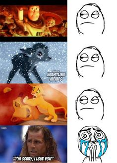 I disagree I cried on 3 of those moments lion king, Bambi, and Shawn Michaels Funny Wrestling, Wrestling Quotes, Wwe Funny, Watch Wrestling, Wwe Divas Paige, Wwe Shawn Michaels, The Heartbreak Kid, Funny Memes Images, Funny Posts