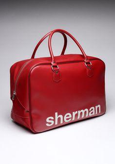 Red Weekender Bag / Ben Sherman
