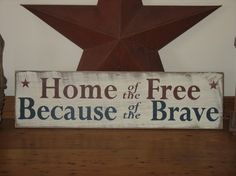 Image Detail for - ... Primitive Decor Summer Independence Day USA Americana Country