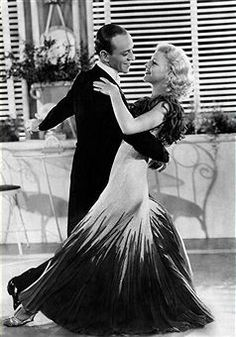Fred Astaire & Ginger Rogers on foxtrot. The Foxtrot is a smooth progressive dance characterized by long, continuous flowing movements across the dance floor. It is a dance that is very fun,energetic, and can be danced to the music styling of Frank Sinatra, Billie Holiday, and Nat King Cole.