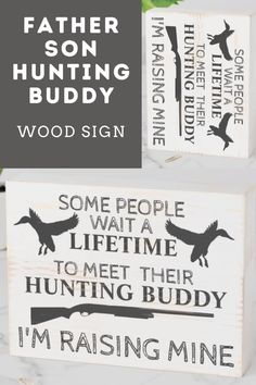 Hunting Home Decor, Hunting Signs, Duck Hunting, Rustic Wooden American Flag, I Love My Son, Box Signs, Father And Son, Custom Boxes, Christmas Card Holders