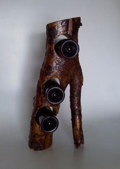 Amazing Rustic Wine Rack by AspenBottleHolders on Etsy