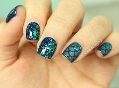 Mermaid nails // Patrizia Conde