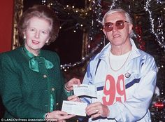 Jimmy Savile and Margaret Thatcher