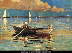 Gloucester Harbor | Winslow Homer
