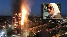 Bij de ramp in Grenfell Tower in Londen is een baby op wonderlijke wijze gered van de dood. Getuige Samira Lamrani stond buiten voor het als een fakkel bra