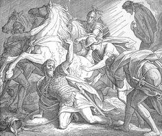 Bilder der Bibel - Pauli Bekehrung - Julius Schnorr von Carolsfeld