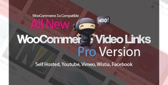 WooCommerce Video Links Pro - Product Gallery Self Hosted / Embedded Videos