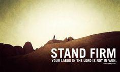 Faithful In Christ : Photo