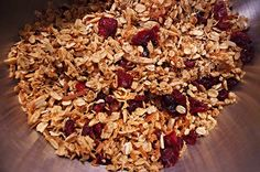 Homemade granola . #healthy #food #eat #DIY #snacks #children #vegetarian #photography #blog #follow