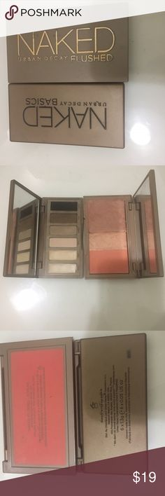 Urban Decay Bundle Both have been used but still have most of the product left Urban Decay Makeup Eyeshadow