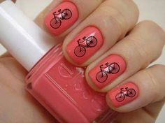 Spring mani for bike lovers!