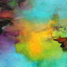 annette schmucker landscapes | Agnes Lang Art Abstract art Landscapes: Summer Contemporary Art