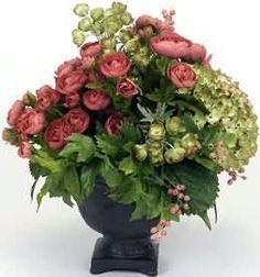 Home Decor Silk Floral Arrangements | Silk Floral Arrangements: Dried Flowers Flower Arranging, Floral ...