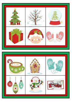 Giochi natalizi per bambini la tombola e il memory di natale 1 feste christmas bingo for Tombola di natale da stampare