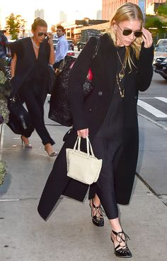 (Mary-Kate) and Ashley Olsen, 2016.