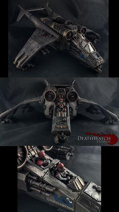 Imperial Guard Vendetta Gunship