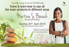 Spa body training @ Tecom Product center Come & learn how to use all the basic products in different ways  by MARTINA ~ Recognized Manager Sunday 24th, April 2016 11am-1pm@Tecom Product Center  Don't miss!!!