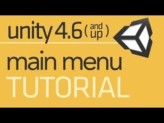 UI Introduction - Simple Menu - Unity 4.6 Tutorial - YouTube