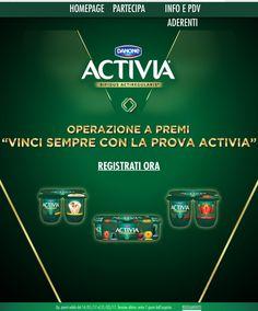 Vinci sempre con la prova Activia – Missione risparmio Bergamo
