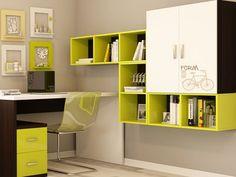Маленькая комната для подростка - основа дизайна, фото
